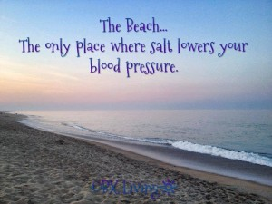 Lower Blood Pressure - Beach